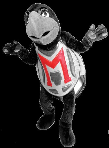 UMD Mascot