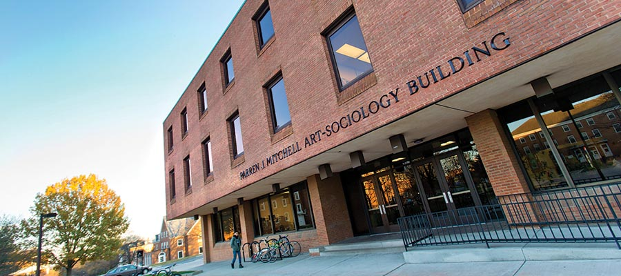 Pareen J. Mitchell Art-Sociology Building