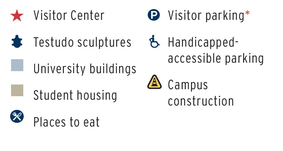 Campus Map Umd Visitor Guide
